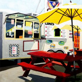 Mighty Cone food truck