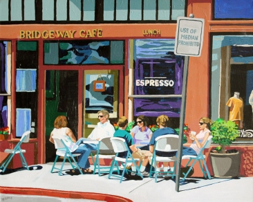 Lunch at the Bridgeway Cafe